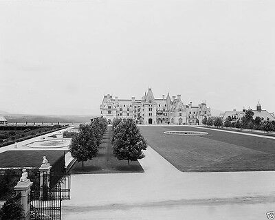 Biltmore House Estate and grounds Asheville North Carolina 1902 New 8x10 Photo