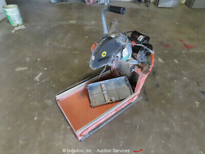 2013 Husqvarna MS355 14'' Electric  Wet Tile Brick Concrete Chop Saw bidadoo