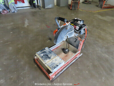 2014 Husqvarna MS355 14'' Electric Wet Tile Brick Concrete Chop Saw bidadoo