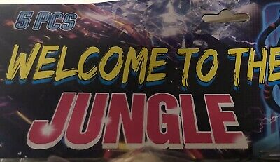 Welcome To The Jungle Salute Rocket Label!