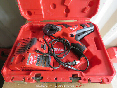 2014 Milwaukee 2472-21XC 600 MCM Cordless Cable Cutter Kit w Charger bidadoo