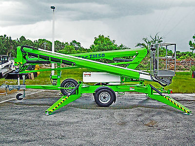 Nifty TM50 Towable Lift,56' Height,2019 Dual Power,w/Free Rotating Basket Option