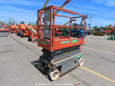 2011 Skyjack SJIII3219 19' Electric Scissor Lift Man Aerial bidadoo -Repair