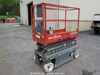2013 Skyjack SJIII3219 19' Electric Scissor Lift Man Aerial bidadoo -Repair
