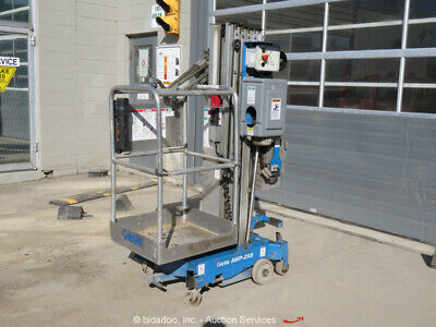"2011 Genie AWP-25S 24' 10"" Electric Vertical Mast Lift Personnel Lift bidadoo"