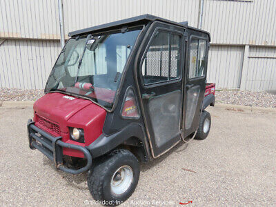 Kawasaki 4010 Mule 4 Seat 4WD UTV Industrial Equipment Cart Cab Heat bidadoo