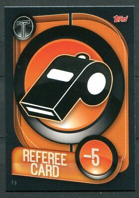 TOPPS UEFA Champions League 2019-2020 Match Attax #T3 REFEREE CARD