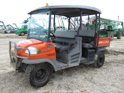 2015 Kubota RTV1140CPXH 4WD ATV UTV Side By Side Dump Bed Cart 4X4 -Parts/Repair