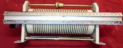 Variable Roller Inductor Coil for linear amplifier or high power ATU matcher