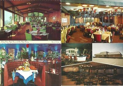 Lot of 50 ASSORTED RESTAURANT Postcards - Varied Lot