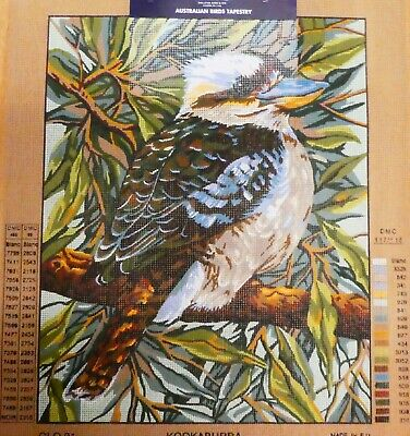 KOOKABURRA by Glo Hill - Tapestry Canvas (New) by DMC