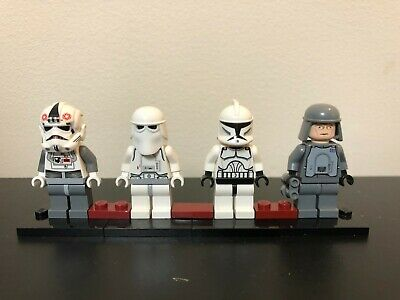 LEGO Star Wars Clone Snow Trooper Officer AT-AT Driver Lot x4 Minifigures