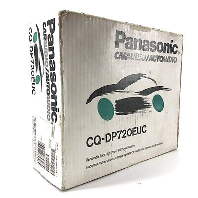 Vintage Panasonic Removeable Face High-Powered CD Player/Receiver CQ-DP720EUC