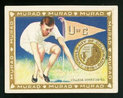 "1910s T51 Murad College Series ""University of Colorado"" VG/EX **AA-5396**"