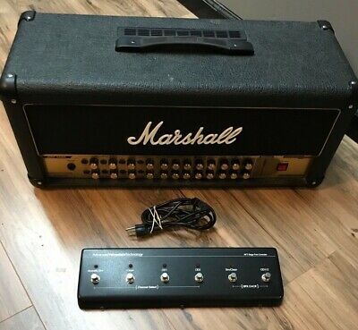 Marshall AVT 150H Valvestate 2000 Amp Head 150W With Foot Switch! *FAST SHIPPING