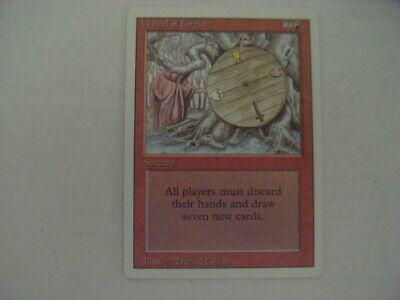 MTG Revised Edition Wheel of Fortune x1 NM