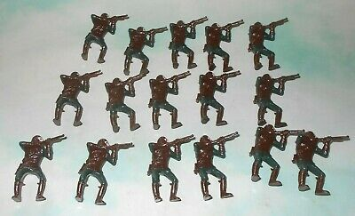 1960s MPC Multiple Planet of the Apes Play Set Hard Plastic Mounted Ape Soldiers