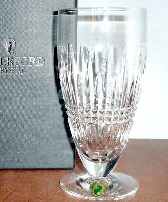 Waterford Lismore Diamond Iced Beverage Footed Glass #156728 New In Box