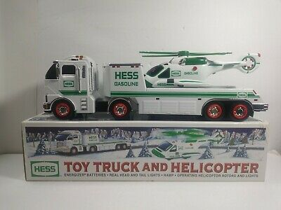Hess Toy Truck and Helicopter 2006  New