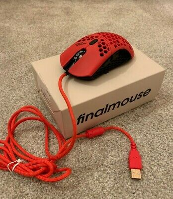 Finalmouse Air58 Gaming Mouse - Cherry Blossom Red WITH hyperglides