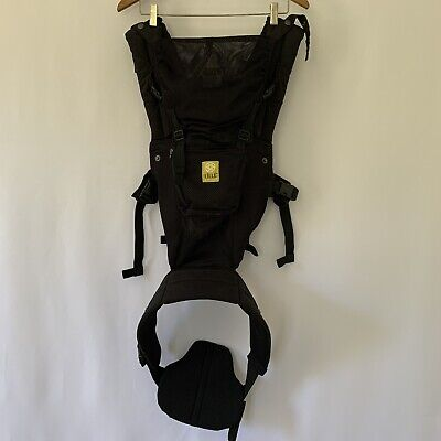 LILLEbaby Baby Carrier 6 Position Complete Airflow Breathable 3D Mesh Black