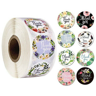 500x Thank You Stickers Seal Labels For Wedding Party Envelopes Seal Stickers UK