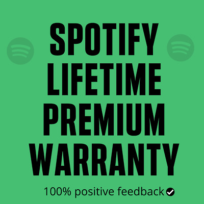 Spotify Upgrade Existing & New Personal Account| Lifetime Warranty|Fast Delivery