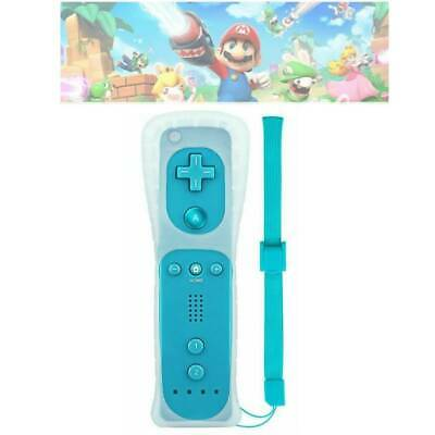 Remote Controller With Motion Plus Inside For Nintendo Wii / Wii U Wiimote +Case