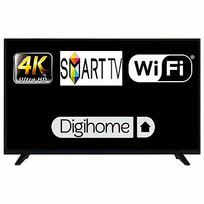 """Digihome 50292UHDDLEDCNTD 50"""" Smart DLED TV 4K Ultra HD with Freeview Play"""