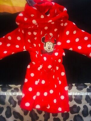 Minnie Mouse 3-6 Months Dressing Gown