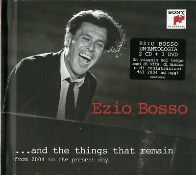 EZIO BOSSO - And The Things That Remain - 2CD+DVD NUOVO SIGILLATO