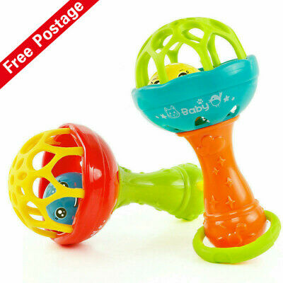 Infant Baby Ball Toy Hand Bell Rattles Baby Intelligent Educational Develop Toys