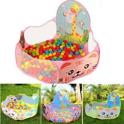 Portable Kids Child Ball Pit Pool Play Tent for Baby Indoor And Outdoor Game Toy