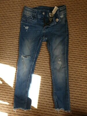 H&M Toddler Girls Skinny Jeans Age 2-3yrs
