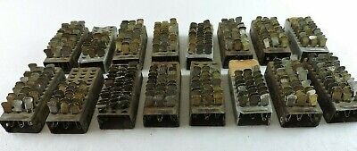 Lot of 400 Vintage Laundry Tags No. Pins & Holders from Very Old Dry Cleaners