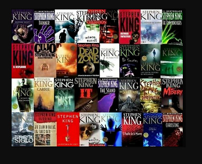 Stephen King 68 Audiobooks Collection MP3 ⚡ Email Delivery (10s) ⚡