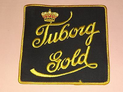 Vintage Bar Tuborg Gold Beer Large Cloth Patch