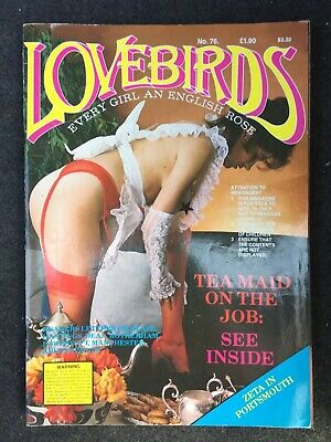 Vintage Men's Adult Glamour Magazine - Lovebirds Number 76 Rare Collectible
