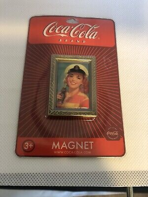 """Coca-Cola '1952 Lady with Sailors Hat"""" Magnets  LOT of 46 NOS"""