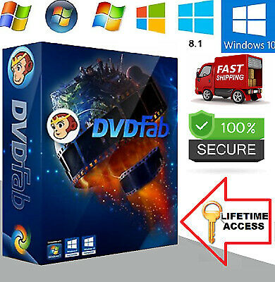 DVDFab 11 ✅ Lifetime License 🔥 Official Version🔥✅ FAST DELIVERY