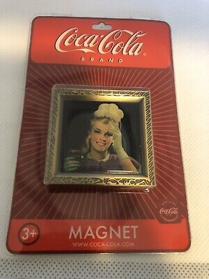 """Coca-Cola '1948 Lady in Purple Suit"""" Magnets  LOT of 56 NOS"""
