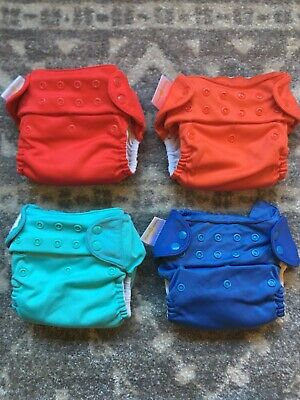 Bumgenius Freetime All in One Cloth Diapers One Size Lot of 4