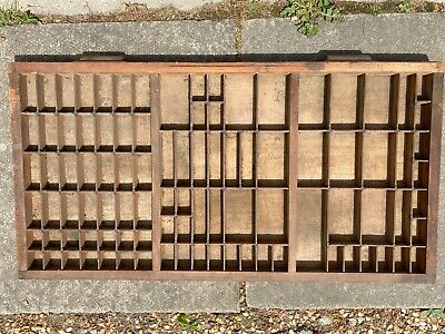 antique wooden printer's board 1m long and 40cm wide