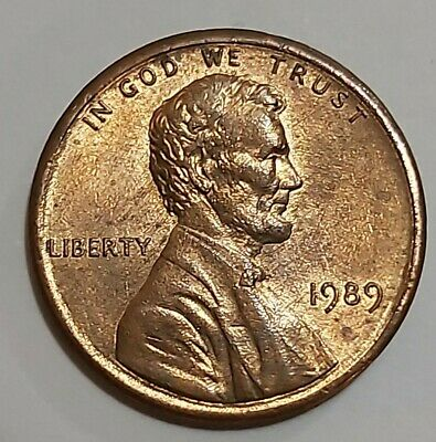 1989 Lincoln Memorial cent With 1988 Rear F.G. Design.1989 REV OF 88 FS-901