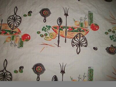 Vintage Wilendur Picnic Tablecloth