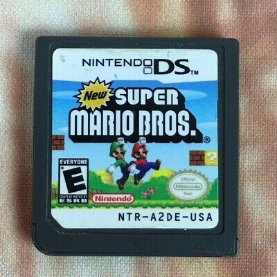 Super Mario Bros (Nintendo DS, 2006) Very Good Condition CARTRIDGE ONLY VGC Gift