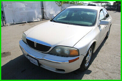 2002 Lincoln LS  2002 Lincoln LS Automatic 6 Cylinder NO RESERVE