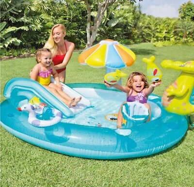Aire de jeux gonflable Alligator piscine enfants