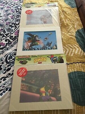 2 Pc.Orig.TV Animat Art Teenage Mutant Ninja Turtles M.W.S.Inc.COA/&Free GIFT