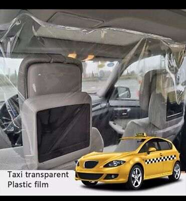 Taxi Driver Protection Isolation Sheet Curtain! 1.4x2 Meters Uk🇬🇧 Seller